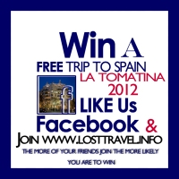 Win a free trip to La Tomatina for 2