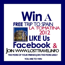 Win a trip to La Tomatina for 2 expires 5/31/12